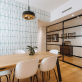 Reforma Salón casa moderna