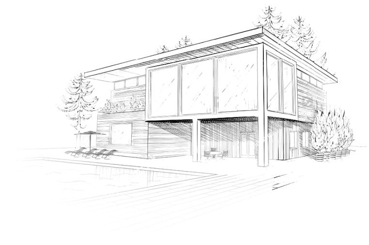 Proyectos de vivienda moderna